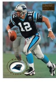 Kerry Collins Trading Card 1996 Skybox Premium #25 Panthers