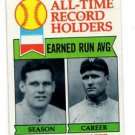 Dutch Leonard Walter Johnson Trading Card Single 1979 Topps 418