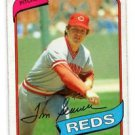 Tom Seaver Trading Card Single 1980 Topps 500 Reds NMMT
