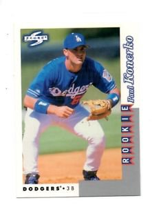 Paul Konerko RC Trading Card 1996 Score Rookies & Traded #RT250 Dodgers