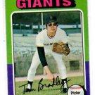 Tom Bradley Trading Card Single 1975 Topps #179 Giants