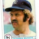 Thurman Munson Trading Card Single 1979 Topps #310 Yankees NMT