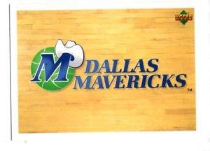Mavericks Team Logo Trading Card 1991-92 Upper Deck International 136