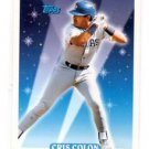 Cris Colon Trading Card Single 1993 Topps 809 Rangers