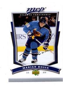 Marian Hossa Trading Card Single 2007-08 UD MVP #282 Thrashers