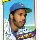 Cecil Cooper Trading Card 1980 Topps #95 Brewers NMT