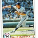 Dale Murray Trading Card Single 1979 Topps #379 Mets