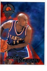 Jacque Vaughn Trading Card 1997 Wheels Rookie Thunder #26