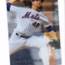 Jacob Degrom Trading Card Single 2016 Topps Finest #61 Mets