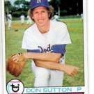 Don Sutton Trading Card 1979 Topps #170 Dodgers NMMT