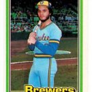 Sixto Lezcano Trading Card Single 1981 Donruss #207 Brewers