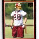 Tyler Ecker Gold RC Trading Card Single 2007 Bowman #264 Redskins
