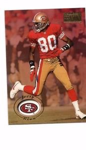Jerry Rice Trading Card 1996 Skybox Premium 160 49ers