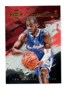 Chris Paul Expressionists Insert 2015-16 Panini Court Kings #27 Clippers