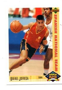Rafael Jofresa 1991-92 Upper Deck International Spanish #126