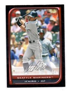 Ichiro Suzuki Trading Card Single 2008 Bowman #185 Mariners