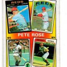 Pete Rose Trading Card 1986 Topps #4 Reds