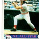 Pete Rose Trading Card Single 1979 Topps #650 RedS AS NMT