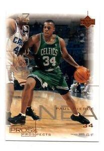Paul Pierce Trading Card Single 2000-01 Upper Deck Pros & Prospects 34 Celtics