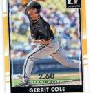 Gerrit Cole Stat Line 2016 Donruss #29 Pirates 106/260