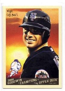 David Wright Trading Card Single 2009 Goodwin Champions #72 Mets
