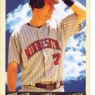 Joe Mauer Trading Card Single 2009 Goodwin Champions #76 Twins