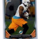 Knowshon Moreno Trading Card Single 2014 Bowman Chrome #54 Dolphins