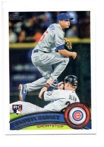 Darwin Barney RC Trading Card Single 2011 Topps #347 Cubs
