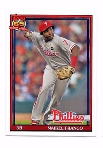 Maikel Franco Trading Card Single 2016 Topps Archives #285 Phillies