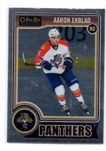 Aaron Ekblad RC Trading Card Single 2014-15 UD OPC Platinum #158 Panthers