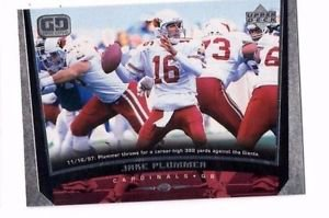 Jake Plummer Trading Card 1998 Upper Deck #49 Cardinals
