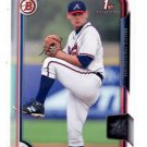 Matt Withrow Trading Card Single 2015 Bowman Draft #36 Braves