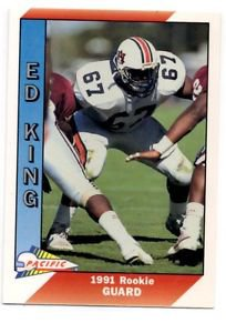Ed King RC Trading Card Single 1991 Pacific #539