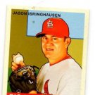 Jason Isringhausen Trading Card Single 2007 Upper Deck Goudey Red #194 Cardinals
