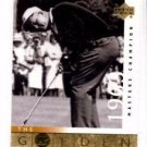 Jack Nicklaus Trading Card Single Golden Bear 2001 Upper Deck  #118