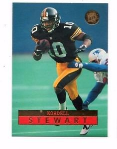 Kordell Stewart Trading Card 1996 Fleer Ultra #127 Steelers