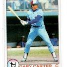 Gary Carter Trading Card 1979 Topps 520 Expos NMT