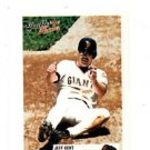 Jeff Kent Trading Card Single 2003 Fleer Tradition #150 Giants