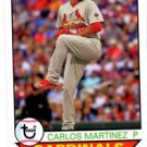 Carlos Martinez Trading Card Single 2016 Topps Archives #184 Cardinals