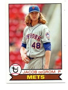 Jacob DeGrom Trading Card 2016 Topps Archives 164 Mets