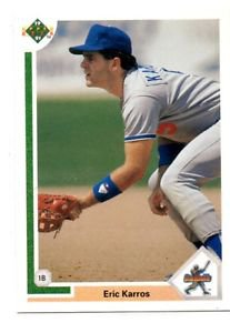 Eric Karros RC Trading Card Single 1991 Upper Deck #24 Dodgers