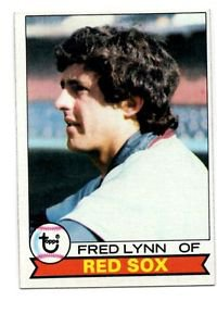 Fred Lynn Trading Card Single 1979 Topps 480 Red Sox