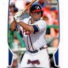 Justin Upton Trading Card Single 2013 Bowman #11 Braves