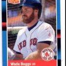 Wade Boggs MVP Trading Card Single 1988 Donruss #BC7 Red Sox