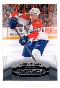 Jaromir Jagr Trading Card Single 2015-16 Upper Deck Overtime #97 Panthers