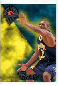 Ed Gray Trading Card 1997 Wheels Rookie Thunder #22