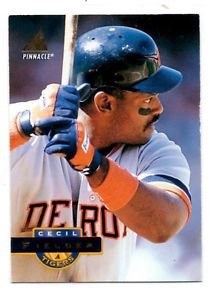 Cecil Fielder Trading Card 1994 Pinnacle #10 Tigers NMT