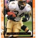Ray Zellars Trading Card 1996 Fleer Ultra 188 Saints