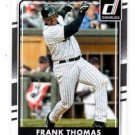 Frank Thomas Trading Card Single 2016 Donruss 180 White Sox