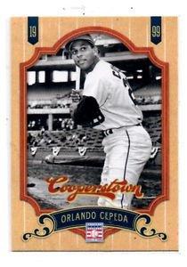 Orlando Cepeda Trading Card Single 2012 Panini Cooperstown #118 Blues